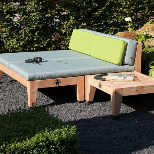 Bolster Lounge bed