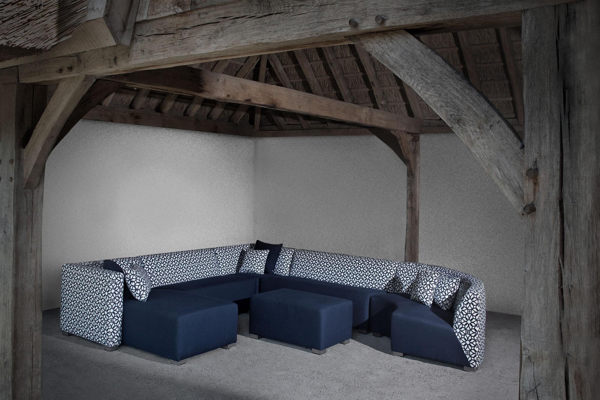 Design chil square loungehoek ernst baas tuininrichting design