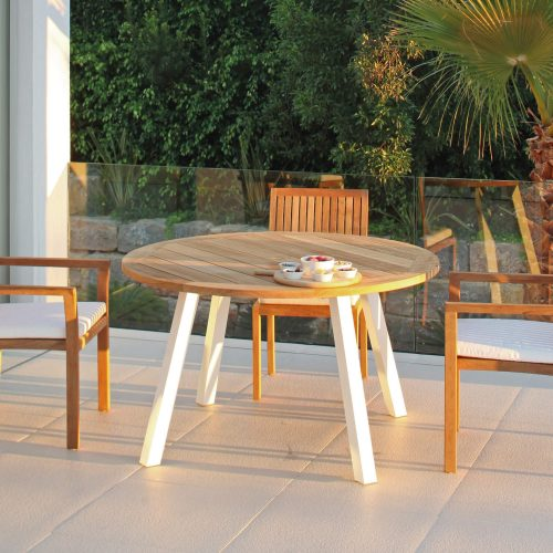 Dining set Royal Botania - Discus met Puriz stoelen