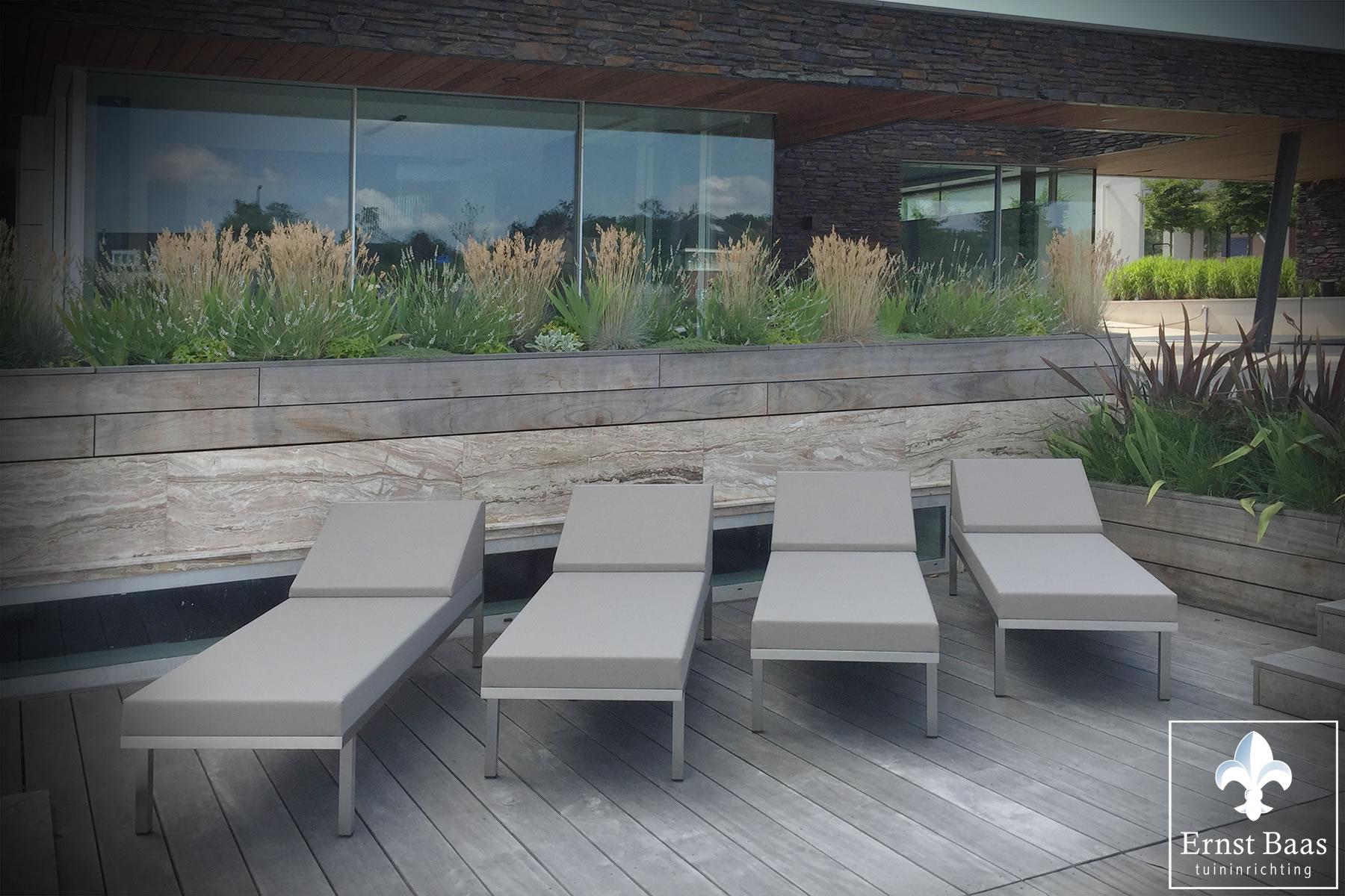 Kussens voor hoge stoelen royan delige set geweven stof