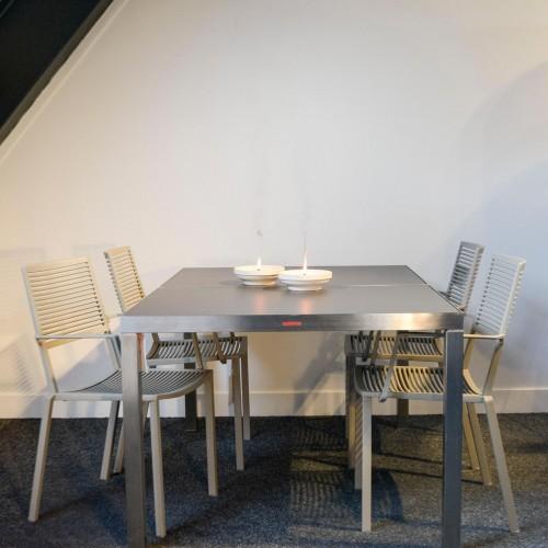 Outlet Demo - Royal Botania - Sexion tafel - Fast - Easy stoel 1x1