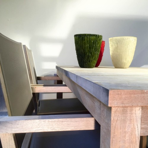 Outlet Demo - Traditional Teak - tafel + stoel
