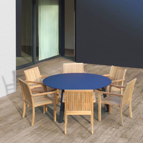 Royal Botania - Puriz Stoelen met Discus tafel