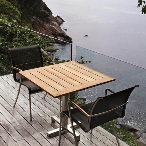 Royal Botania QT Wood tafel en stoelen