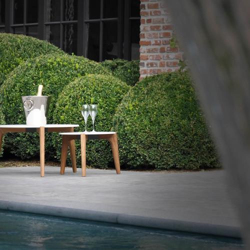Royal Botania Tea Time van Teakhout en Keramiek