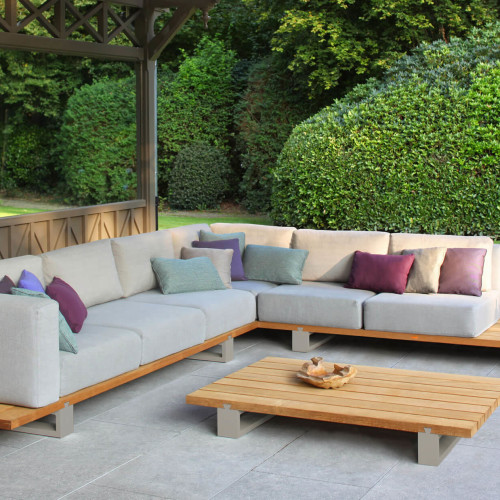 Royal Botania Vigor lounge set met tafel