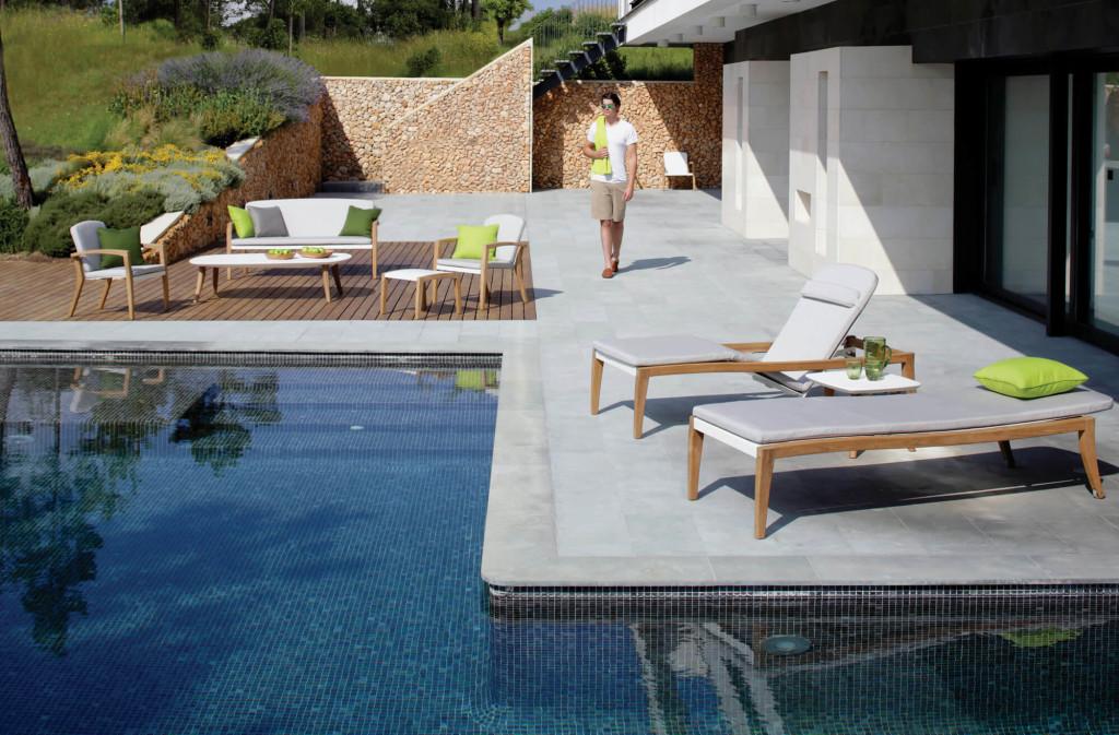 Royal Botania Zidiz lounge set met ligbedden