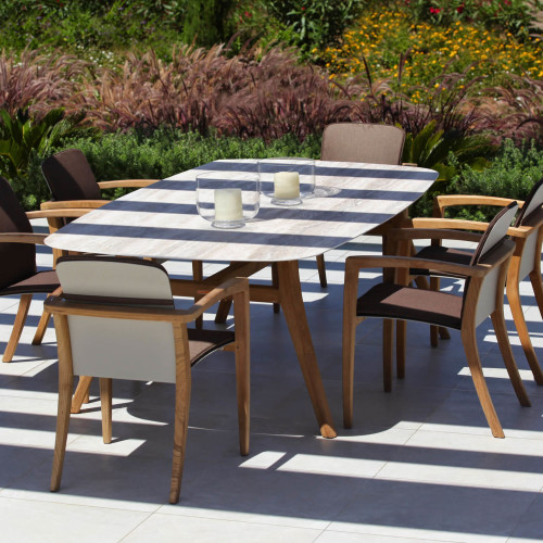 Royal Botania Zidiz tafel met stoelen