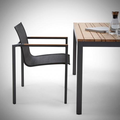 Solpuri Classic Tisch tafel antraciet gecoat aluminium