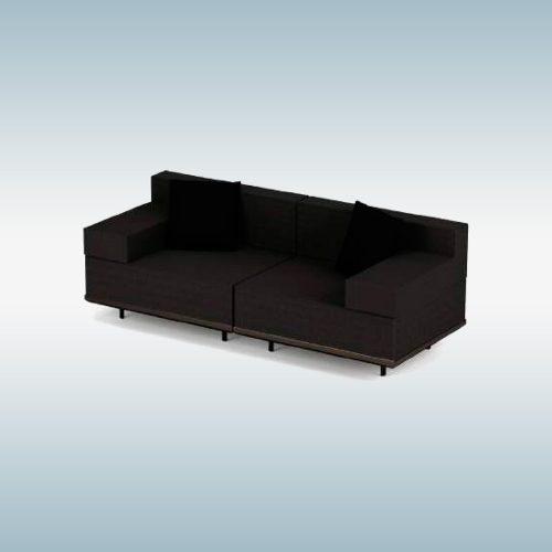 Stoffen loungebank - Royal Botania