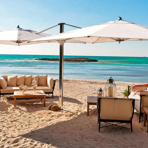 Tuuci OMX Dual Cantilever Beach parasol