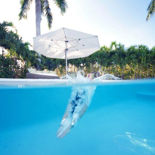 TUUCI Ocean master MAX Classic Zwembad parasol