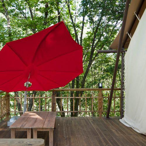 Umbrosa - Icarus - Windscherm en parasol in een