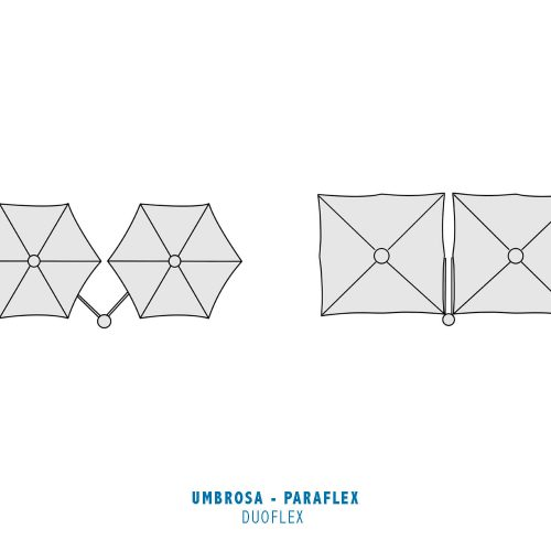 Umbrosa - Paraflex - Duoflex Round en Square