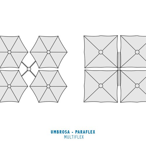 Umbrosa - Paraflex - Multiflex Round en Square