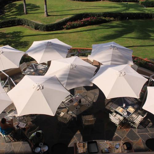 Umbrosa Paraflex Multiflex - meerdere parasols op een mast