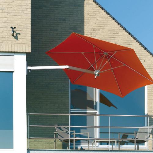 Umbrosa Paraflex Wallflex - parasol op balkon