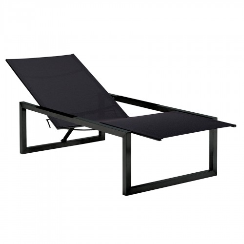 Loungebedden Loungebed - Royal Botania - Ninix Lounger - Gehele zwarte uitgevoerd