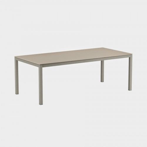 Tuintafels tuintafel - Royal Botania Taboela - Aluminium tafel met een keramiek tafelblad