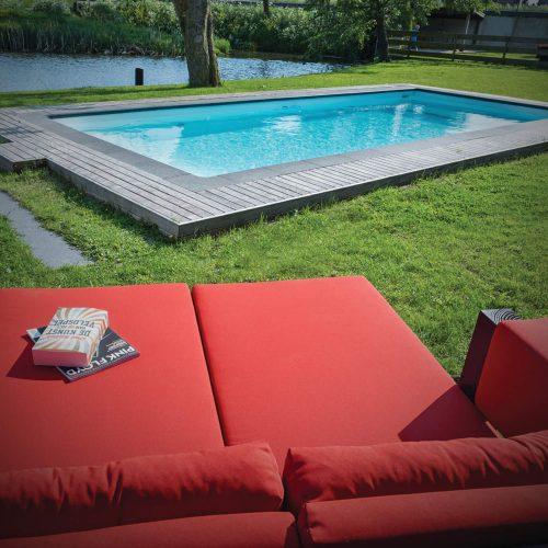 Zwembad en spa ernst baas tuininrichting design for Zwembad plaatsen in tuin
