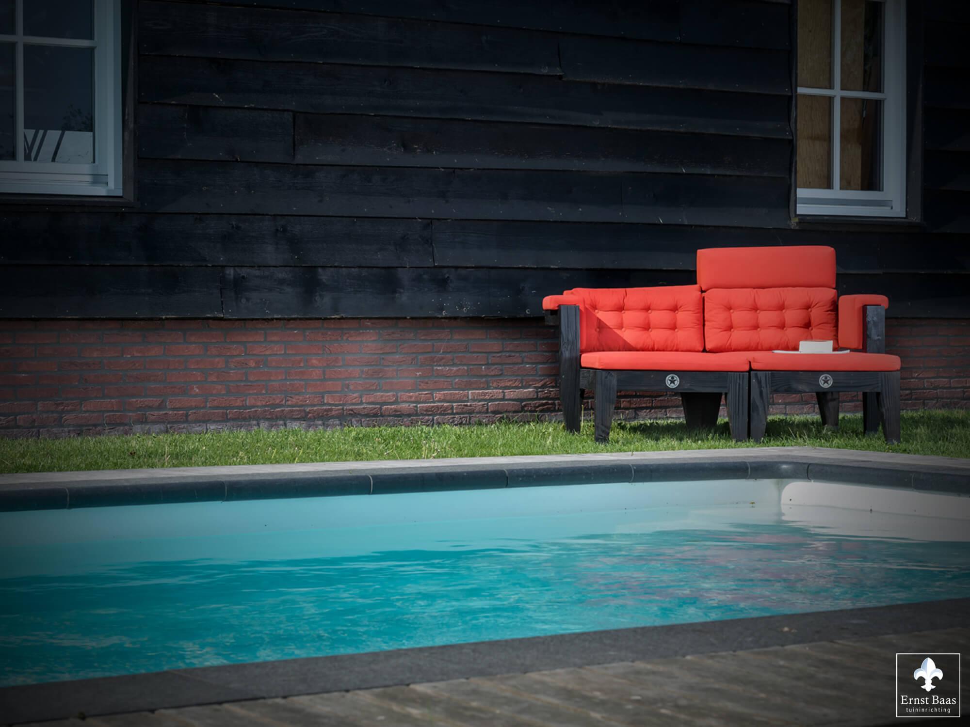 Zwembad en spa ernst baas tuininrichting design tuinmeubelen