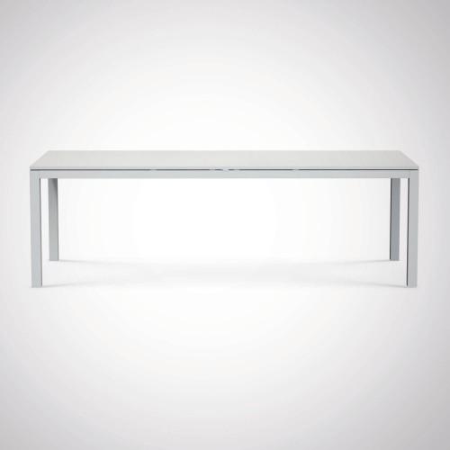 Ethimo - Flat - Aluminium tafel - 100x240 cm uitschuifbaar tot 360 cm
