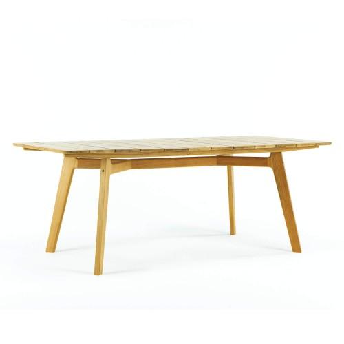 Ethimo -Knit - Eettafel volledig teakhout - 100x200 cm