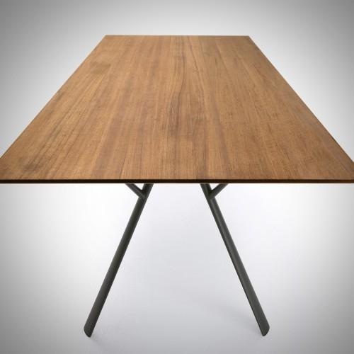 Fast Radice quadra teak tafel