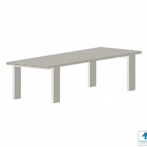 LOFDesign - TABLE 13 AL - de aluminium tuintafel