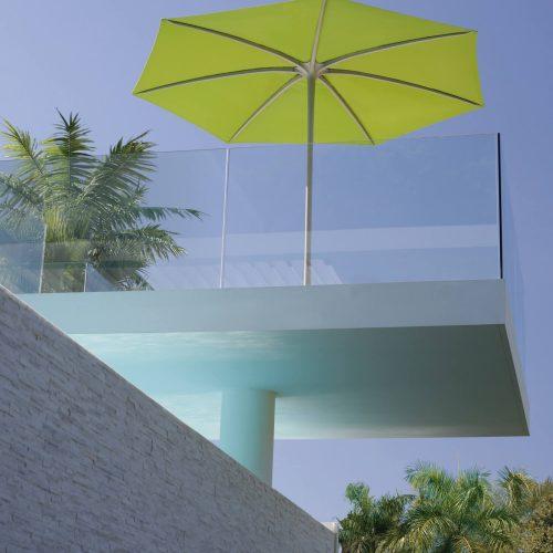 Parasol op balkon - Palma