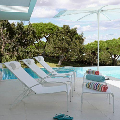 Royal Botania - QT stoel met Palma parasol