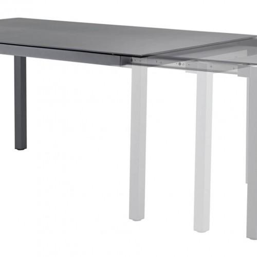 Solpuri Classic Alu - Tafel met aluminium frame - Mogelijk als schuiftafel