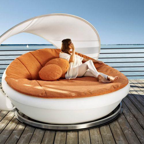 Solpuri - Lagoon - Sunbed - Luxe bed voor in de tuin