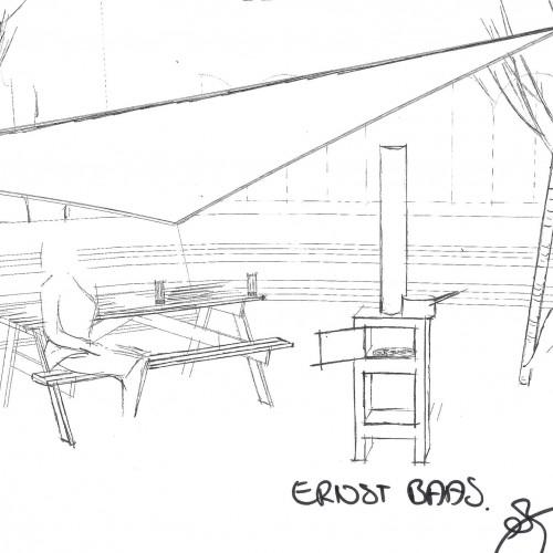 Strand van Gouda -  LF Gouda in samenwerking met Ernst Baas Tuininrichting - art impression