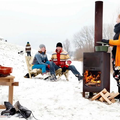 Weltevree - Outdooroven - Buitenkoken tijdens het hele buitenseizoen