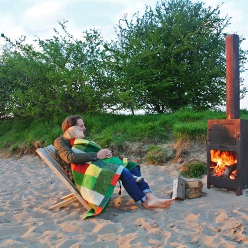 Weltevree - Outdooroven - Neem u BBQ en Buitenkeuken mee op reis - Genieten van een kampvuur op het strand of in uw tuin
