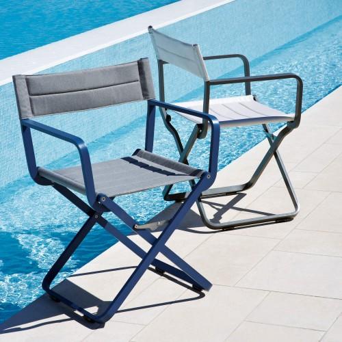 Ethimo - Studios - Prachtige aluminium stoel uw Yacht of zeilboot