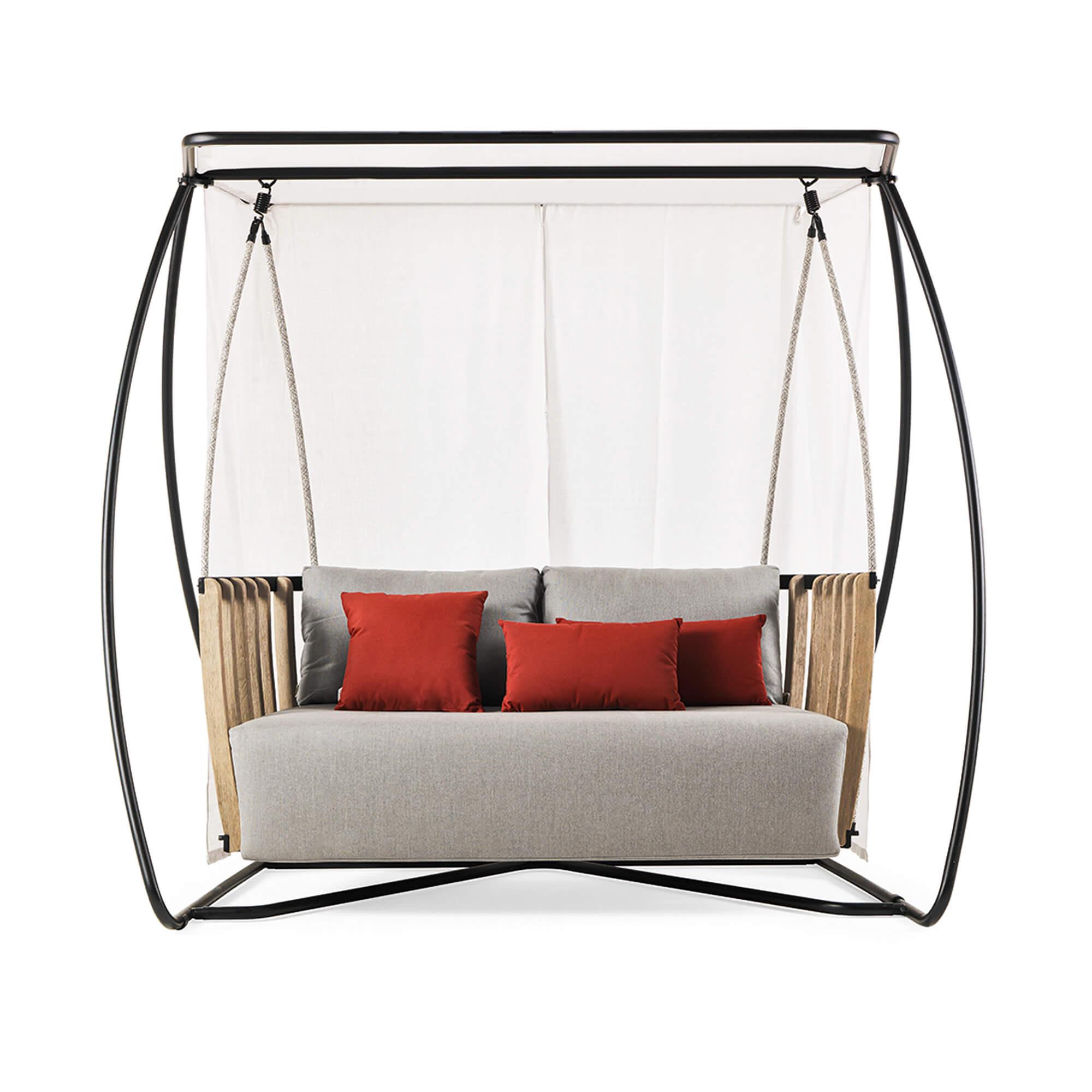 Schommelbank Royal Swing.Ethimo Swing Porch Swing Luxe Schommelbank Van Pickled Teak