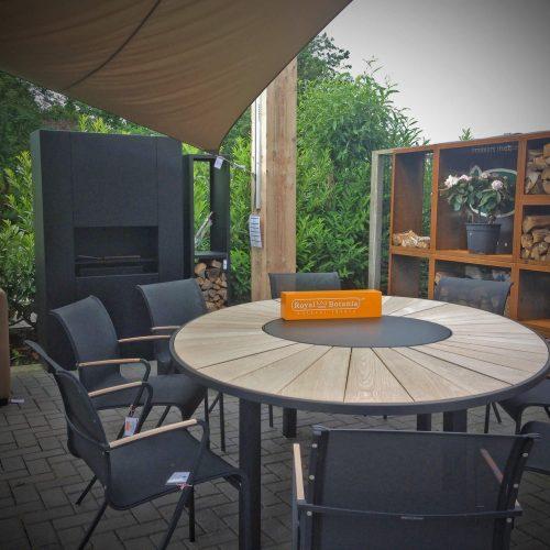 Safari tafel Uitschuifbare tafel voor buiten
