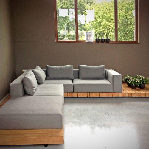 Solpuri - Plateau - Nieuwe lounge bank