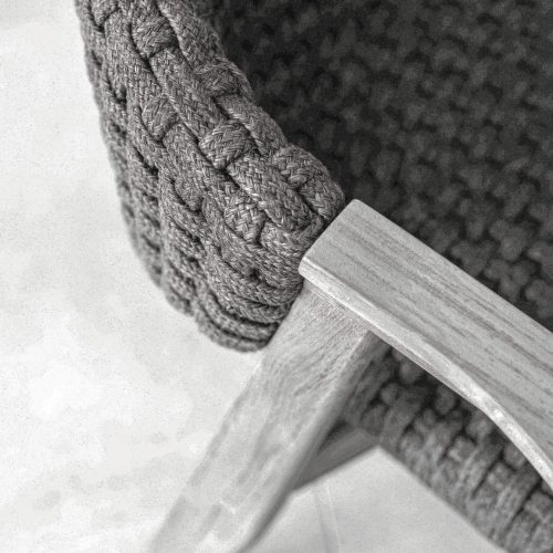 Ethimo - Knit - teakhouten armstoel
