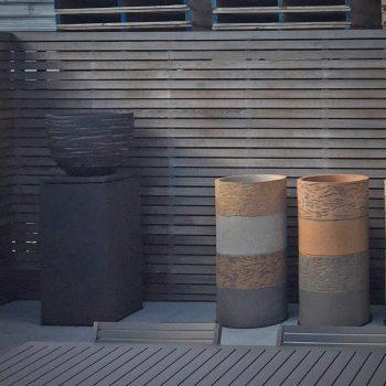 Hoge potten van Atelier Vierkant - Maatwerk