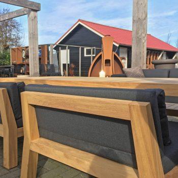 Piet Boon Tuinmeubelen - Iroko houten frame