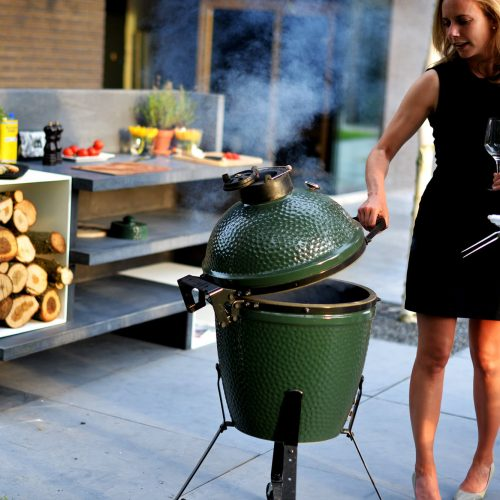 Barts Food Factory - Buitenkeuken met Big Green Egg