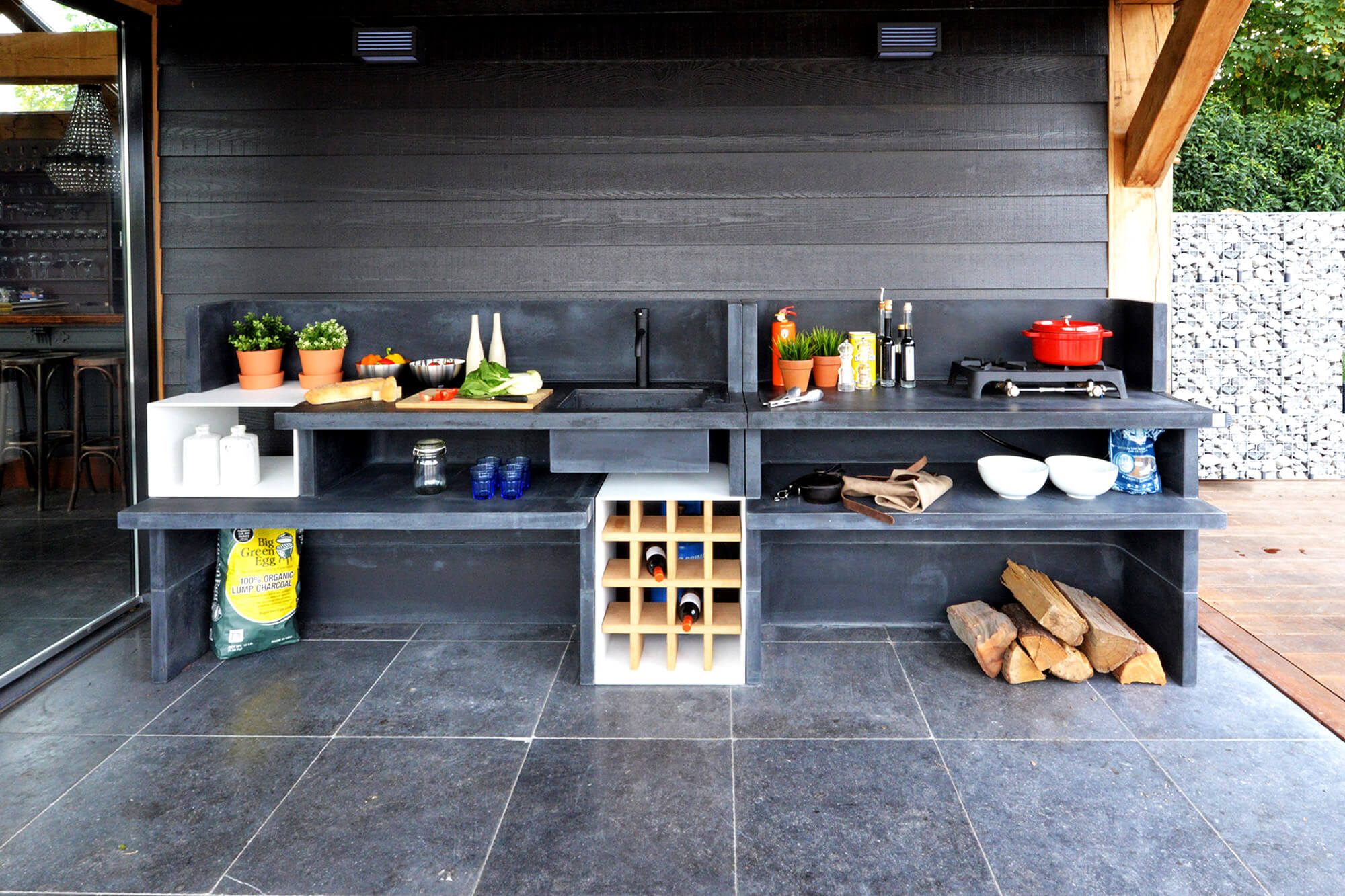 Welp Barts Food Factory - Luxe Buitenkeukens - Ernst Baas CJ-27
