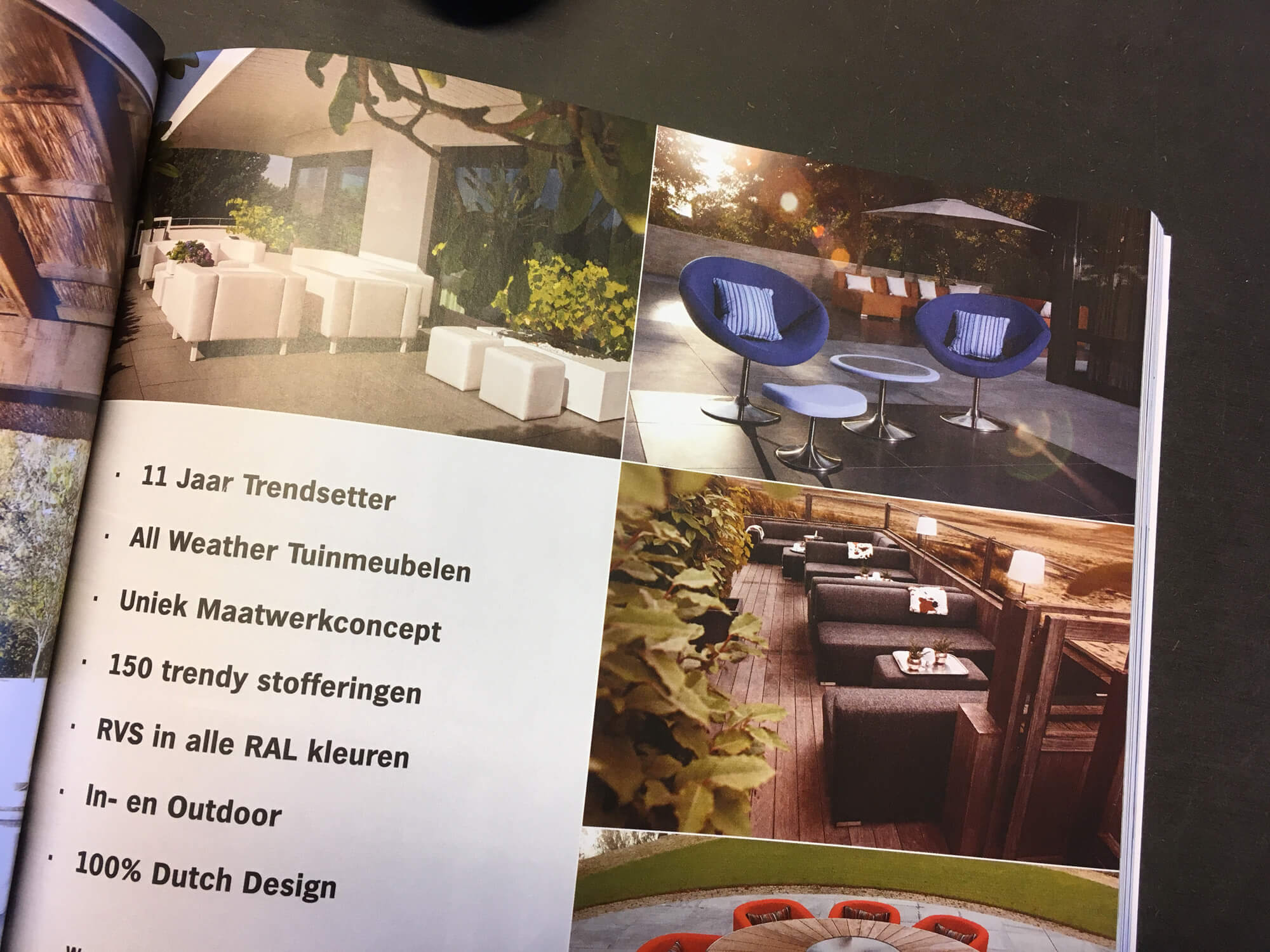 Design chill in stijlvol wonen ernst baas tuininrichting