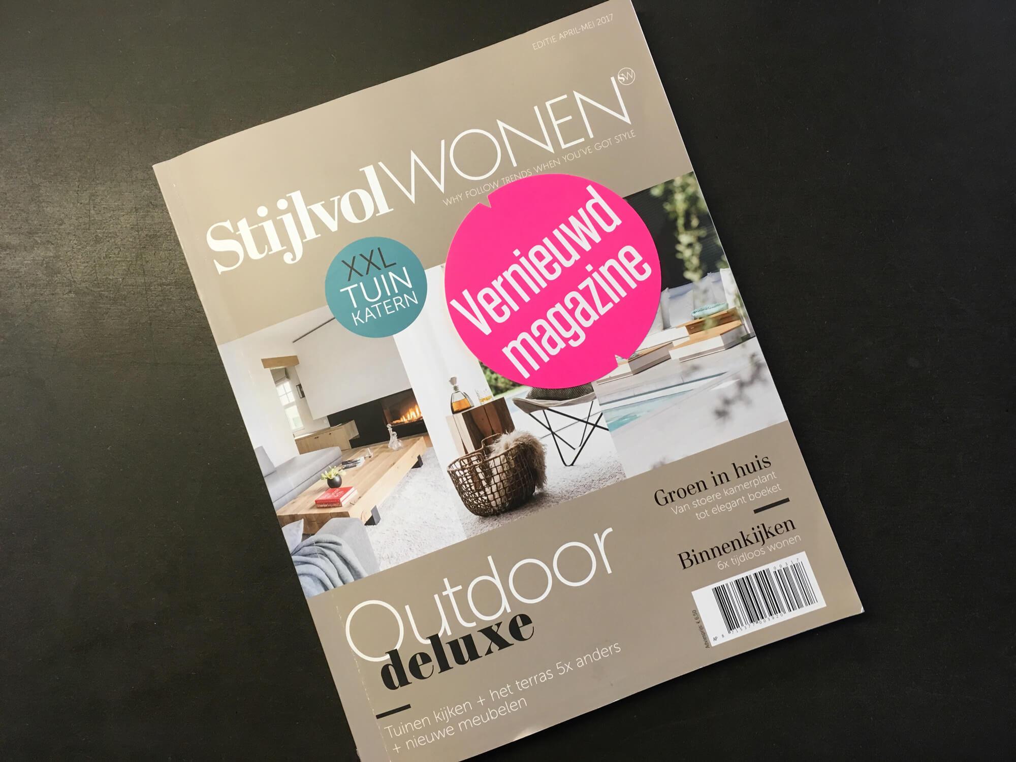 Magazine - Stijvol Wonen - Outdoor deluxe
