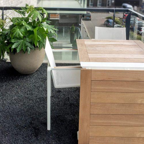 Traverse tafel Royal Botania met Atelier Vierkant