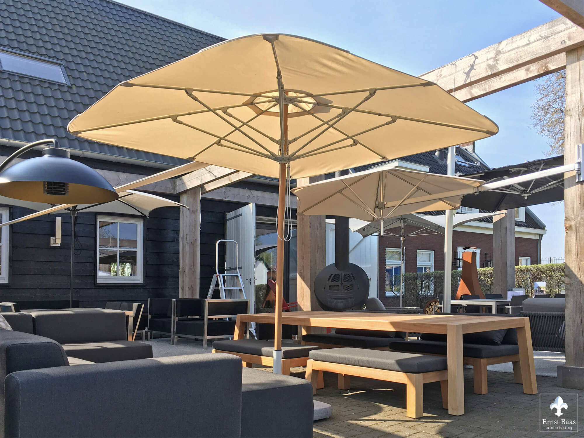 Umbrosa - Design2Chill - Heatsail - Piet Boon tuinmeubelen