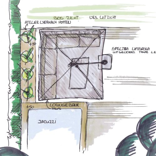 Luxe Tuinmeubels Wassenaar Loungemeubels - Parasols - Pottery